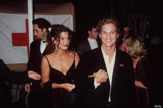 Sandra Bullock and Matthew McConaughey (Photo by Magma Agency/WireImage)