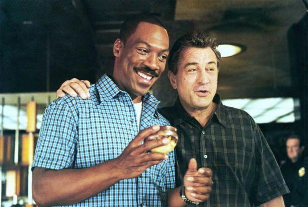 SHOWTIME, Eddie Murphy, Robert De Niro, 2002, (c) Warner Brothers