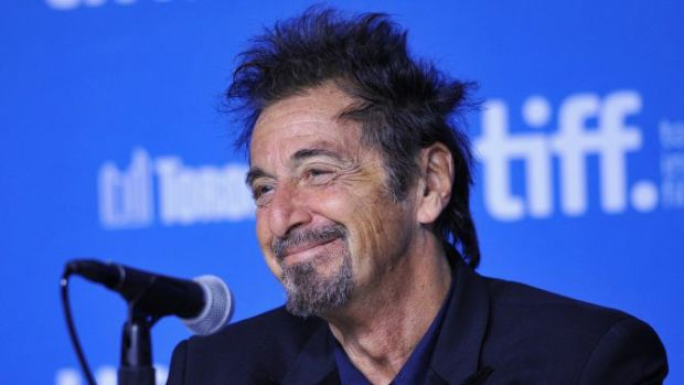 "TORONTO, ON - SEPTEMBER 07: Actor Al Pacino and ""Manglehorn"" speaks onstage ""Manglehorn"" Press Conference during the 2014 Toronto International Film Festival at TIFF Bell Lightbox on September 7, 2014 in Toronto, Canada. (Photo by George Pimentel/WireImage)"