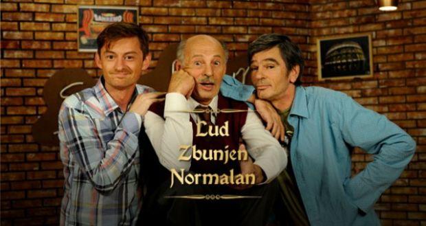 "Sa kolegama iz serije ,,Lud zbunjen normalan"""