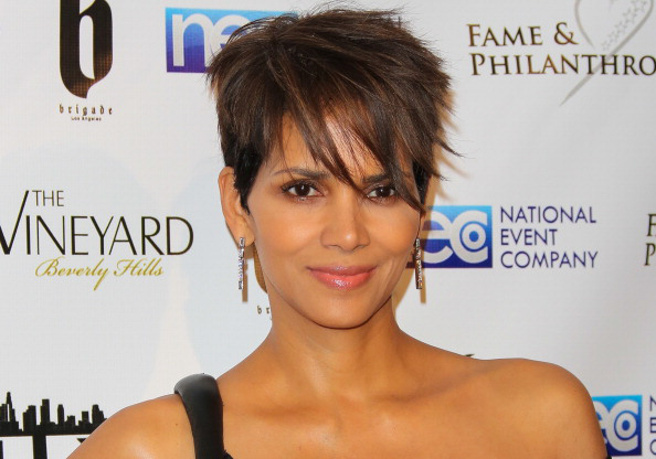 BEVERLY HILLS, CA - MARCH 02: Actress Halle Berry attends the Fame And Philanthropy post-Oscar party at The Vineyard on March 2, 2014 in Beverly Hills, California. (Photo by Paul Archuleta/FilmMagic)