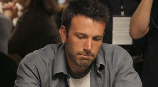 Actors Don Cheadle, right, and Ben Affleck play during the Ante Up for Africa charity poker tournament of World Series Poker in Las Vegas, Thursday, July 5, 2007. (AP Photo/Jae C. Hong)