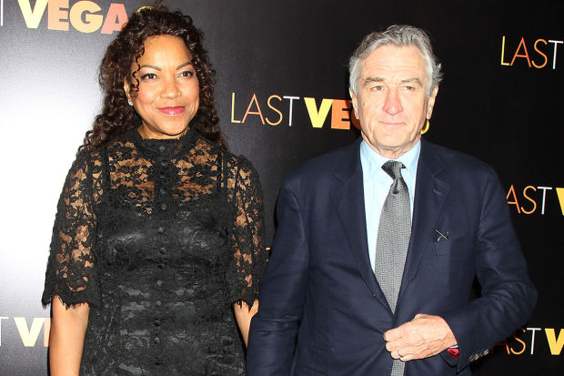 "- New York - 10/29/13 -CBS Films presents the New York premiere of ""Last Vegas"". The film stars MIchael Douglas, Robert DeNiro ,Morgan Freeman and Kevin Kline    -PICTURED: Grace Hightower and Robert DeNiro   -PHOTO by: Dave Allocca/Starpix -File name: DA691220.JPG -Location: Ziegfeld Theater  Editorial - Rights Managed Image - Please contact www.startraksphoto.com for licensing fee Startraks Photo New York, NY For licensing please call 212-414-9464 or email sales@startraksphoto.com"