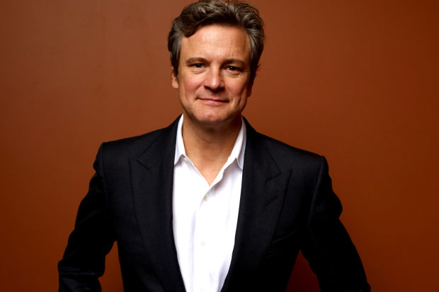 """TORONTO, ON - SEPTEMBER 10: Actor Colin Firth of """"Arthur Newman"""" poses at the Guess Portrait Studio during 2012 Toronto International Film Festival on September 10, 2012 in Toronto, Canada. (Photo by Matt Carr/Getty Images)"""