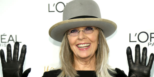 NEW YORK, NY - DECEMBER 03: Actress Diane Keaton attends L'Oreal Paris' Women of Worth 2013 at The Pierre Hotel on December 3, 2013 in New York City. (Photo by Paul Zimmerman/WireImage)