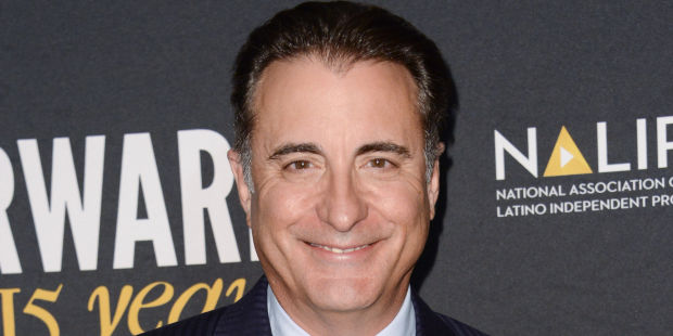 Arrivals for The 15th annual NALIP Media Summit 2014 held at Sheraton Universal Hotel in Los Angeles, California. Pictured: Andy Garcia Ref: SPL775942 070614 Picture by: Cliffe Fraser / Splash News Splash News and Pictures Los Angeles: 310-821-2666 New York: 212-619-2666 London: 870-934-2666 photodesk@splashnews.com